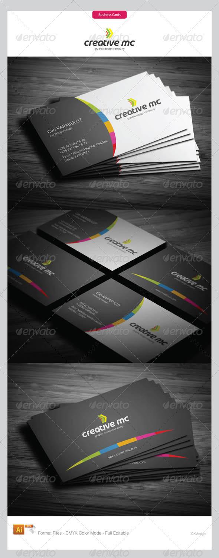 Corporate Business Cards 291 - Corporate Business Cards