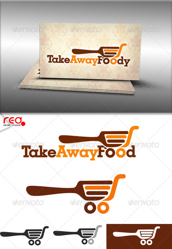 Take Away Food Logo - Food Logo Templates
