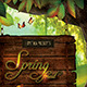 Spring Forest - Flyer/Poster Template - GraphicRiver Item for Sale
