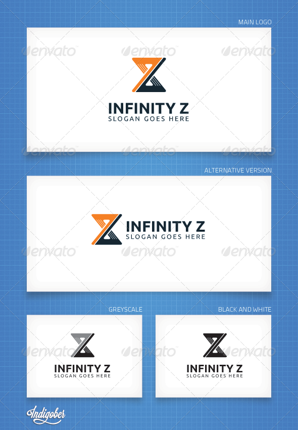 Infinity Z - Logo Template - Letters Logo Templates