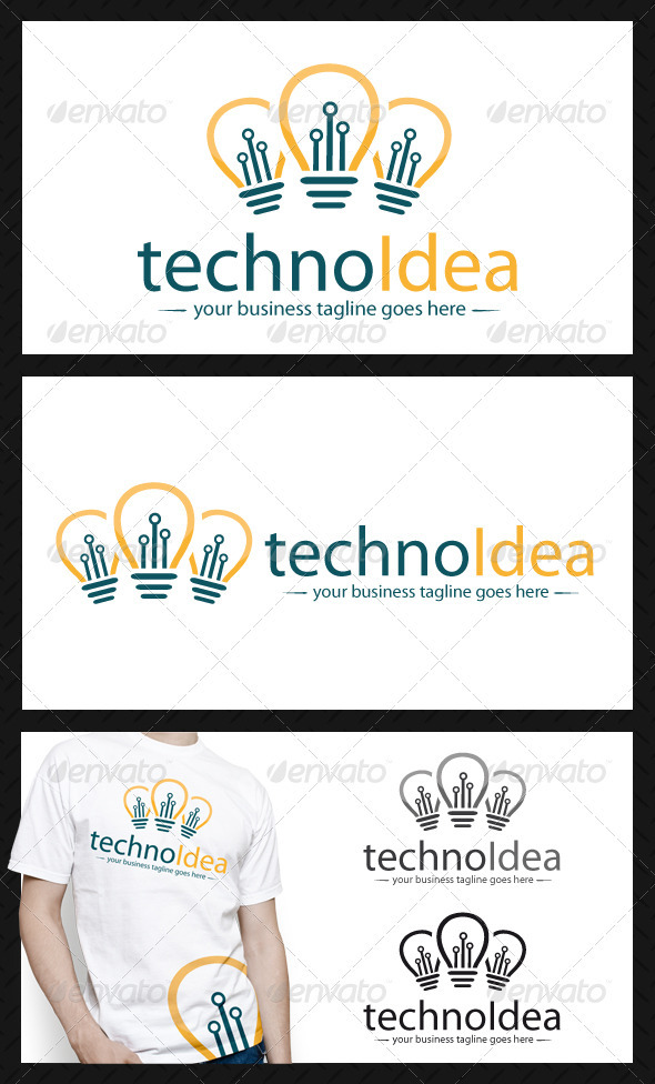 Idea Tech Logo Template - Objects Logo Templates