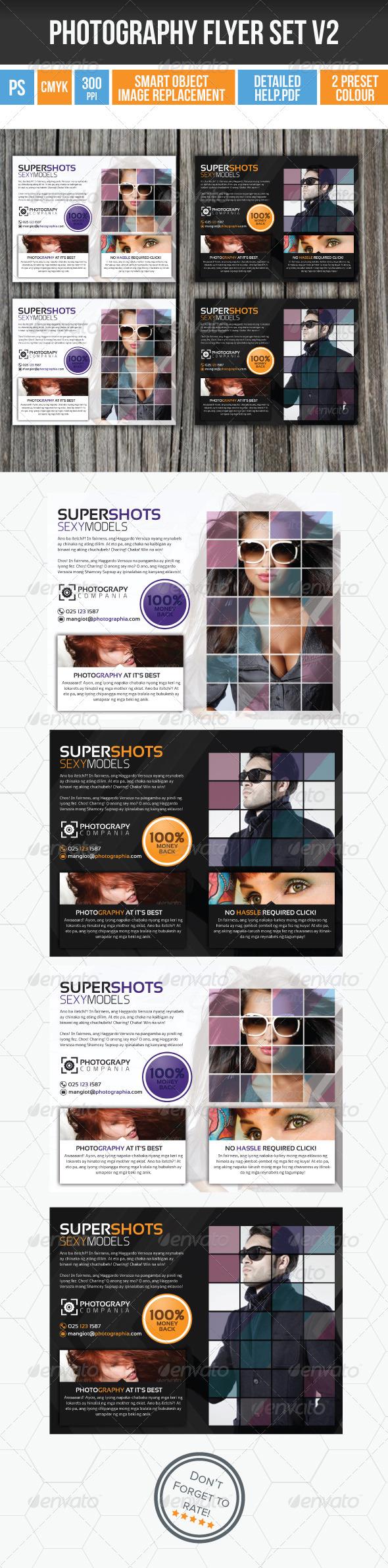 Minimalist Photography Flyer v2 - Flyers Print Templates