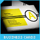 Minimal Geometric Business Cards - GraphicRiver Item for Sale