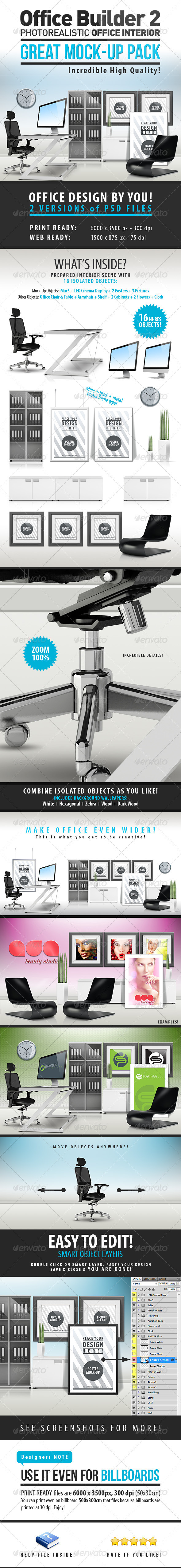 Office Builder 2 - Great Mockup Pack - Miscellaneous Product Mock-Ups