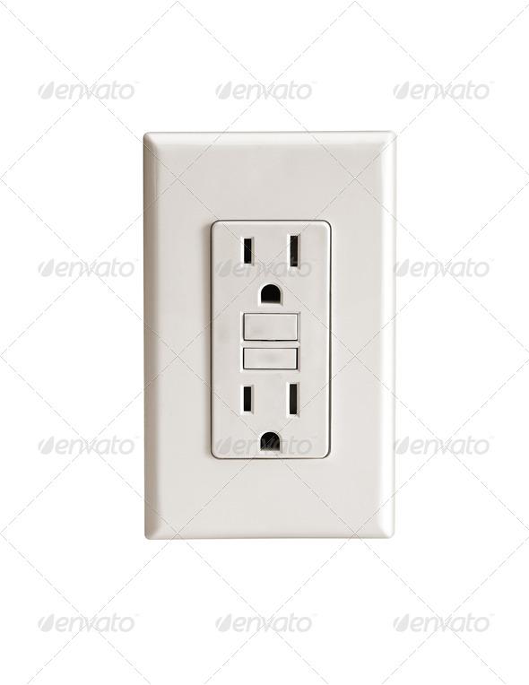 Socket. On a white background. - Stock Photo - Images