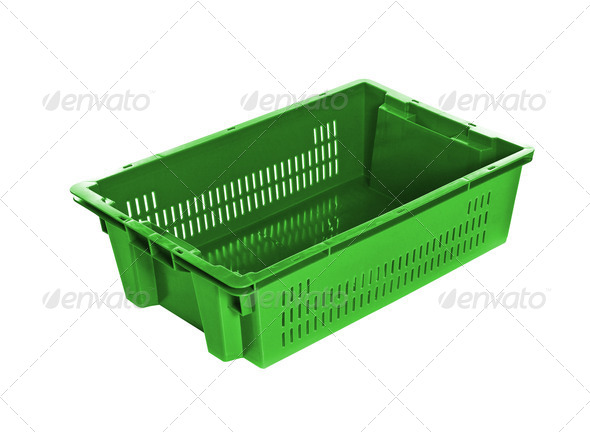 folding box isolated on white - Stock Photo - Images