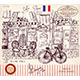 Paris's Street - GraphicRiver Item for Sale