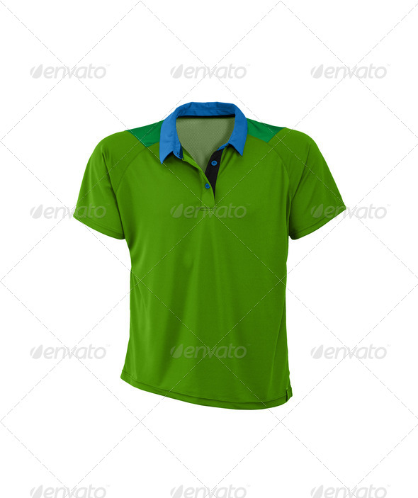 Polo shirt. On a white background. - Stock Photo - Images