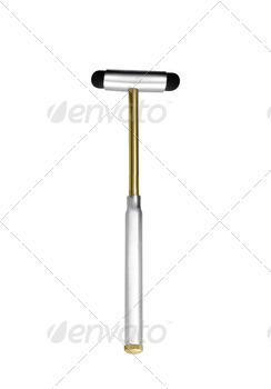 medical hammer isolated on white