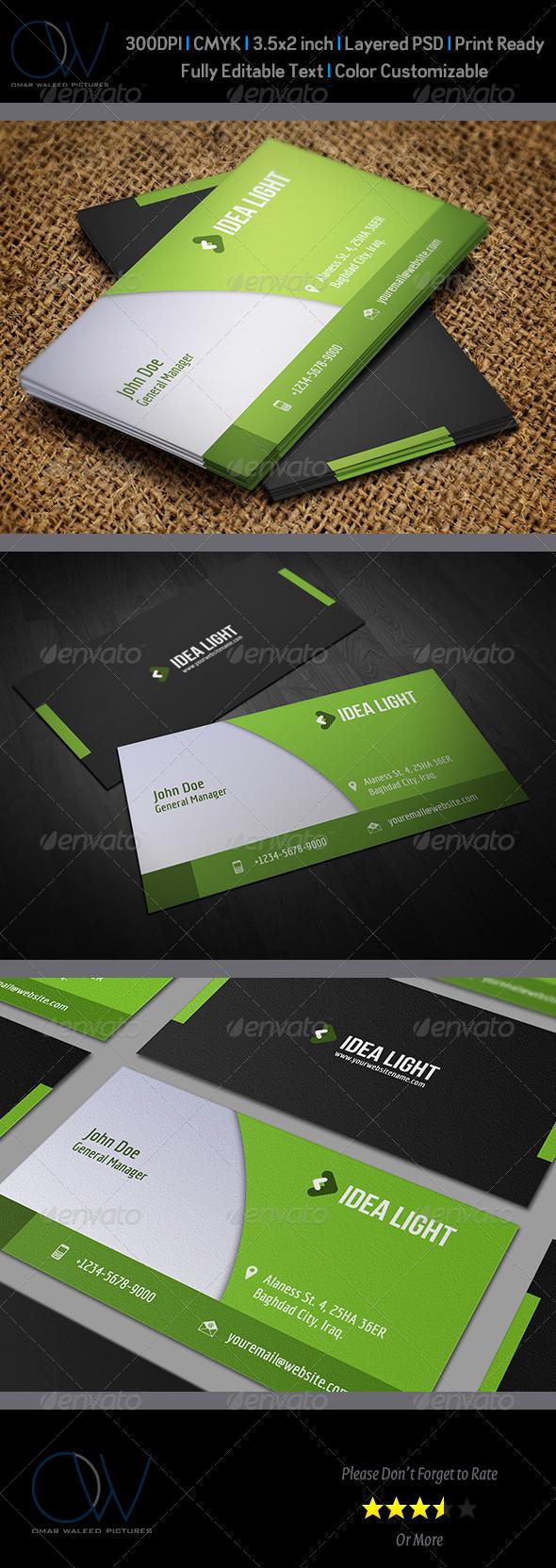 Corporate Business Card Vol.18 - Corporate Business Cards