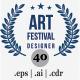 40 Laurel Wreath Design Element v2 - GraphicRiver Item for Sale