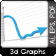 Falling And Increasing Graphs - GraphicRiver Item for Sale