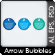 Three Easy Steps - Arrow Bubbles - GraphicRiver Item for Sale
