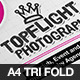 TopFlight Photography Tri Fold Brochure Template - GraphicRiver Item for Sale