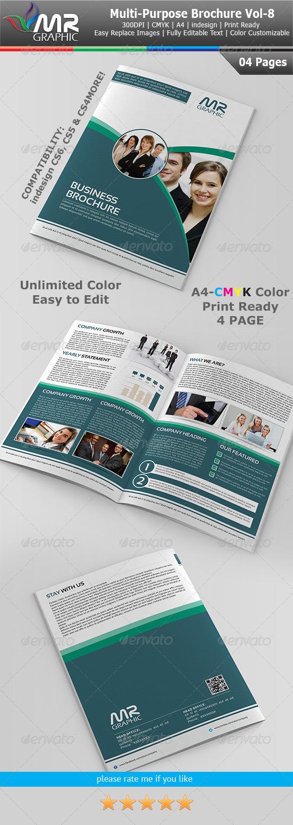 Multipurpose Business Brochure Vol-8 - Corporate Brochures