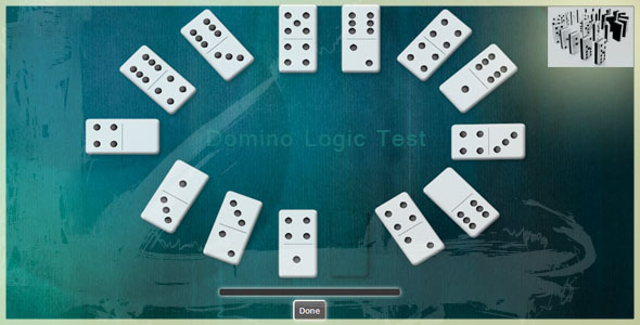 Domino Logic Test - CodeCanyon Item for Sale