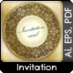 Invitation Card Cover Variations - GraphicRiver Item for Sale