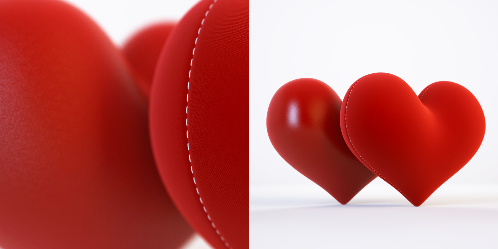 3d model and 3d scene with a heart by rnax | 3DOcean
