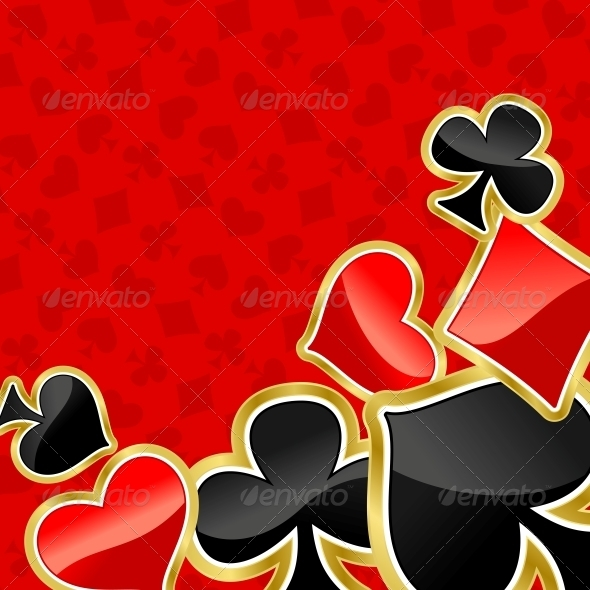 Poker Background - Backgrounds Decorative