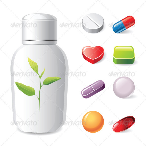 Pills Icons - Miscellaneous Characters