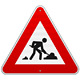 Construction Road Sign - GraphicRiver Item for Sale