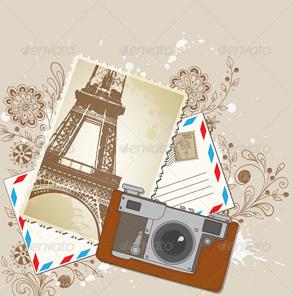 Old Camera - Miscellaneous Vectors