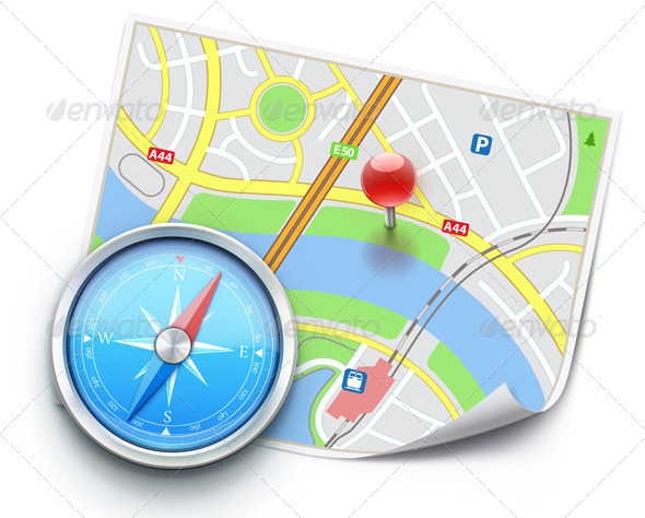 global navigation concept - Technology Conceptual