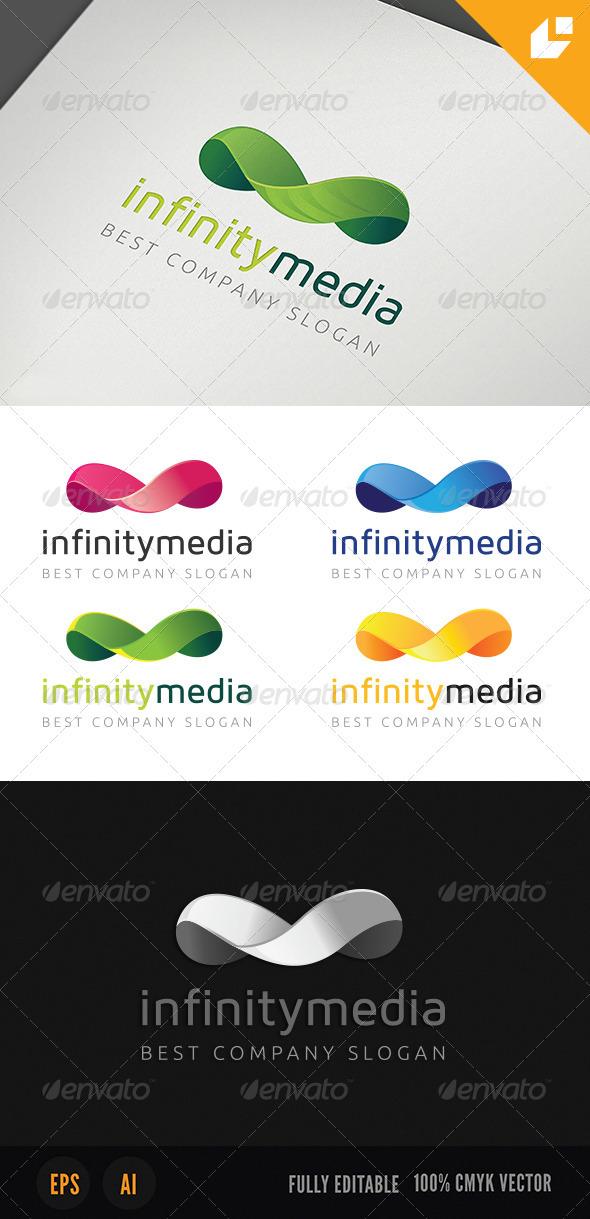 Infinity Media Logo - Symbols Logo Templates