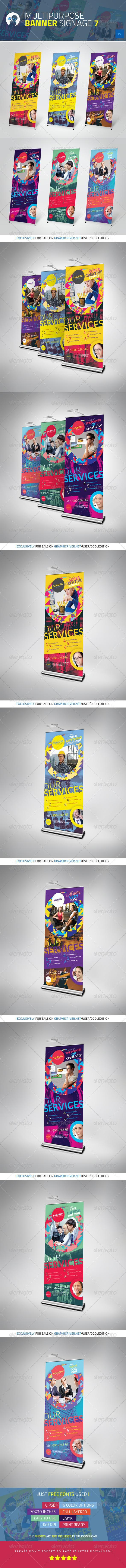 Multipurpose Banner Signage 7 - Signage Print Templates