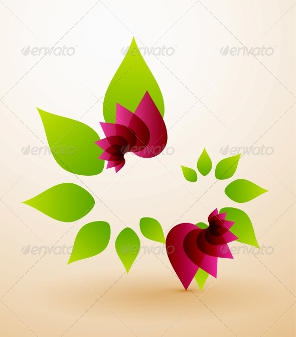 Spring Flower Abstract Background - Flowers & Plants Nature