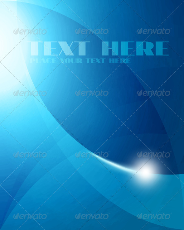Abstract Blue Background - Backgrounds Business