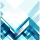 Blue Modern Geometric Abstract Background - GraphicRiver Item for Sale