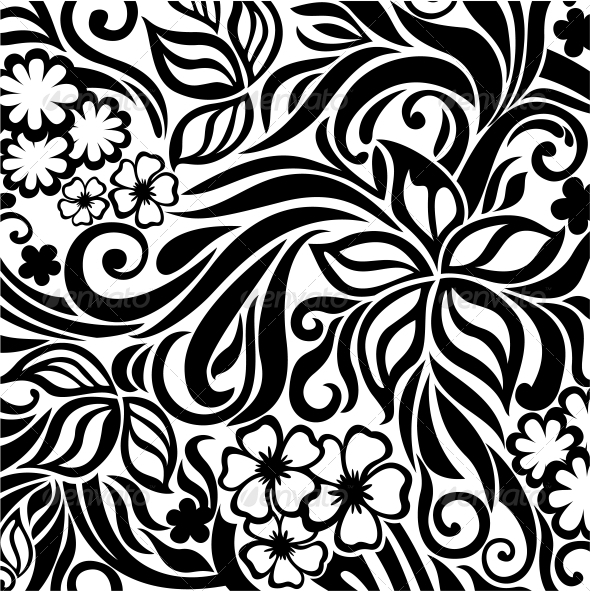 Floral Background - Backgrounds Decorative