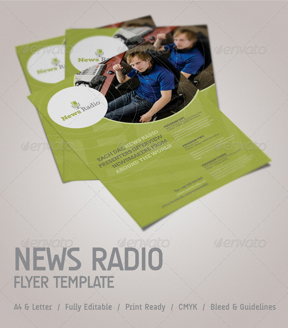News Radio Flyer - Corporate Flyers