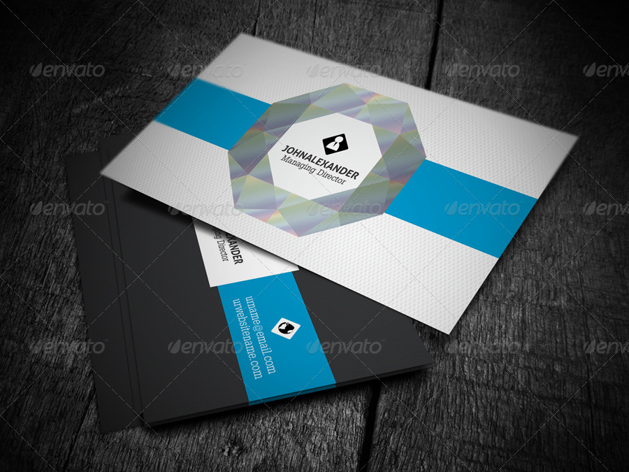 Diamond business card by axnorpix graphicriver screenshot05diamond business cardg colourmoves Gallery