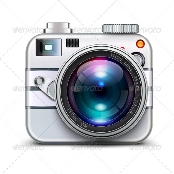 Photo Camera  - Objects Vectors