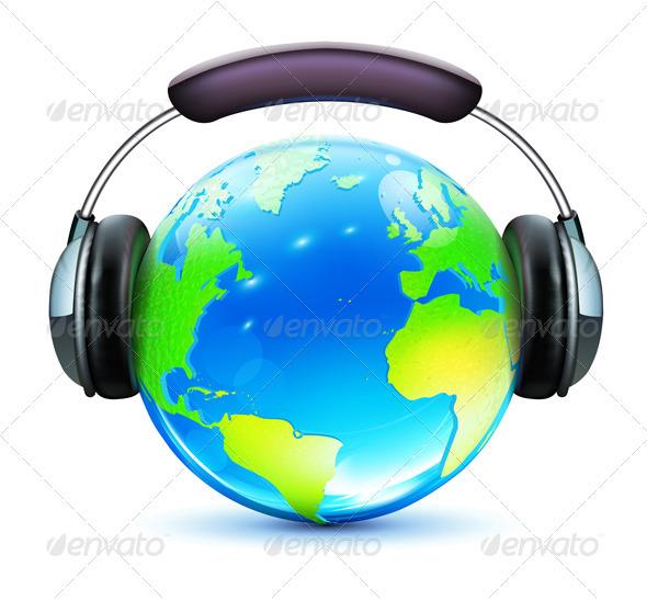 Music Concept - Conceptual Vectors