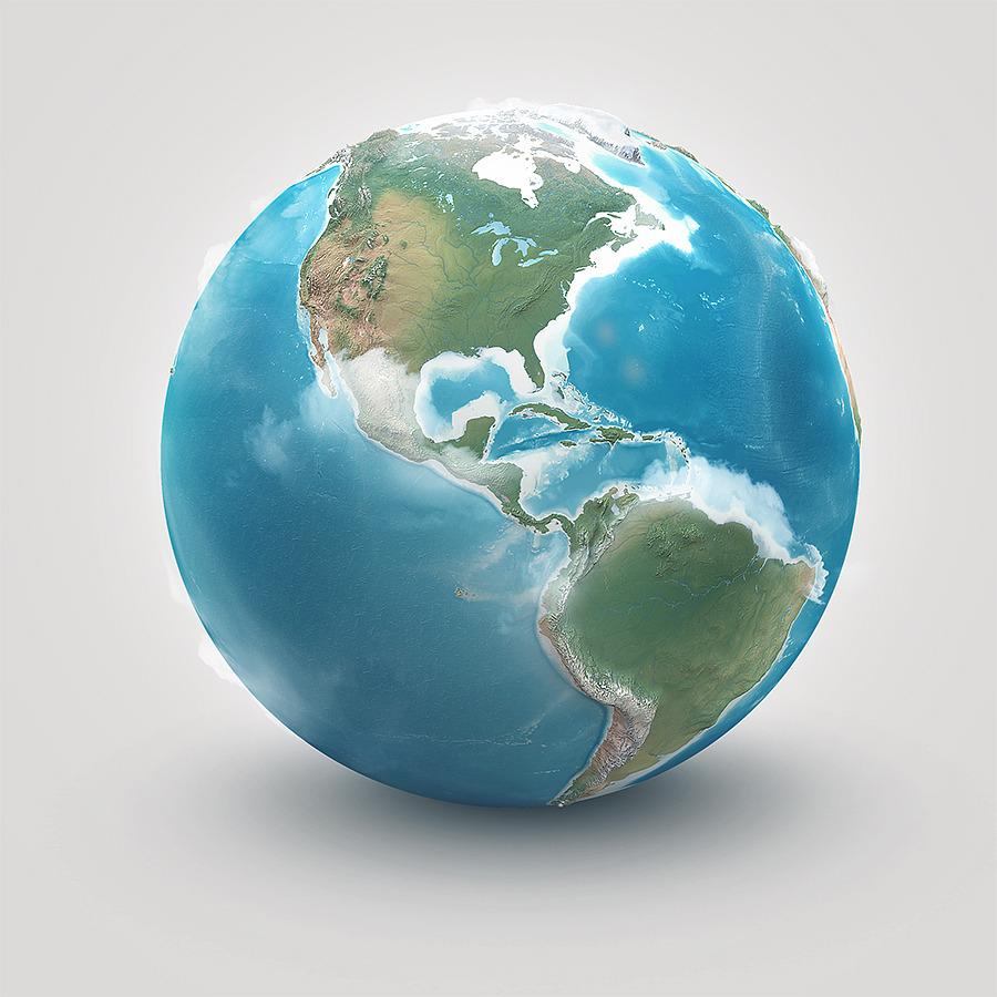 planet earth globe - photo #4
