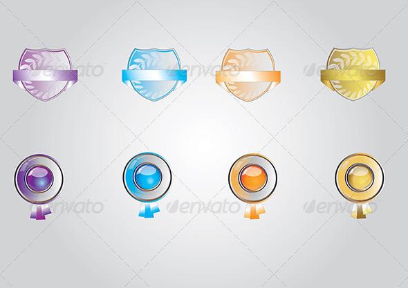 award icon set - Miscellaneous Vectors