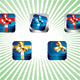 Gift box App icon set - GraphicRiver Item for Sale