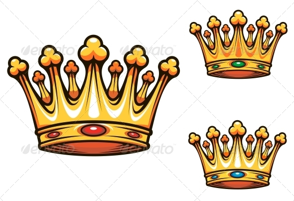 Royal king crown - Decorative Symbols Decorative