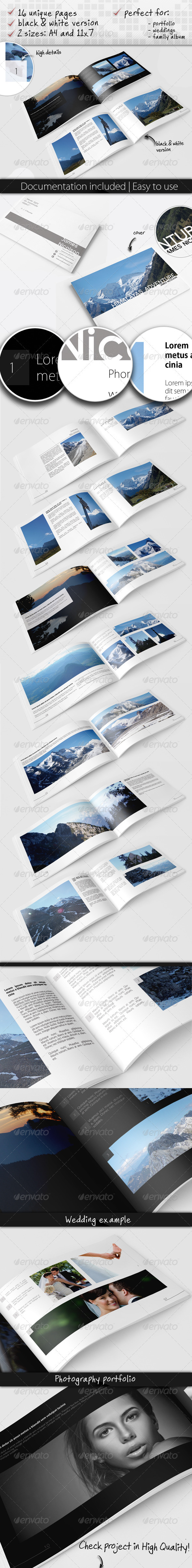 Universal Album - Photo Albums Print Templates