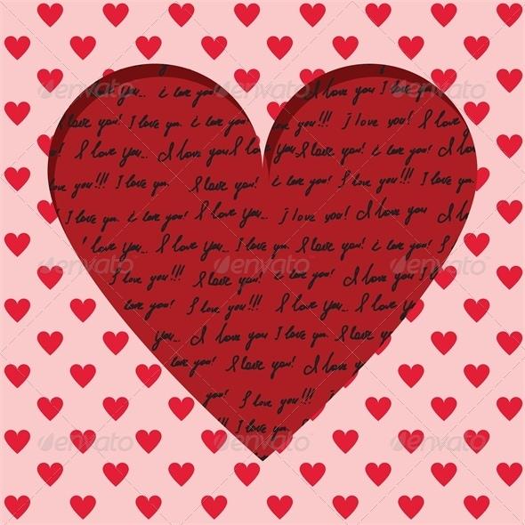 Valentine card  - Valentines Seasons/Holidays