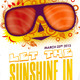 Let The Sunshine In Poster and Flyer - GraphicRiver Item for Sale