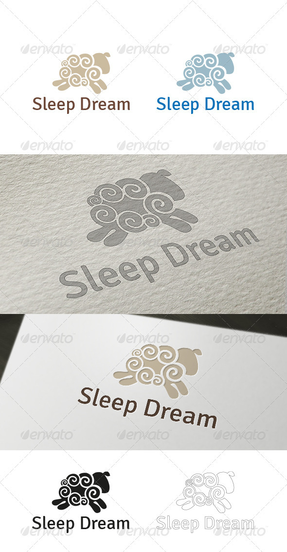 Sleep Dream Logo Template - Nature Logo Templates