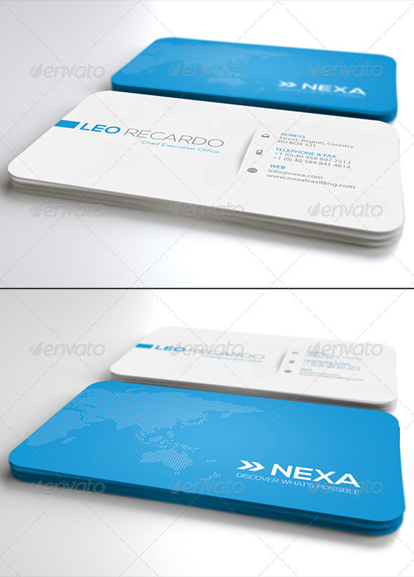 Global Business Card Ver. 2.0 by Unicogfx | GraphicRiver
