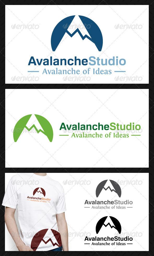 Avalanche Studio Logo Template - Symbols Logo Templates
