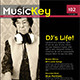 24 Pages Musickey Music Magazine Template - GraphicRiver Item for Sale