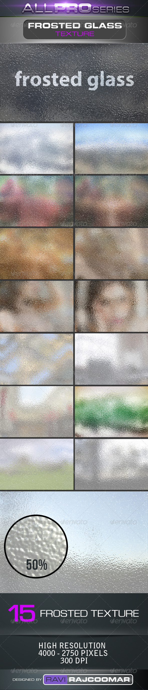 Frosted Glass Backgrounds - Nature Backgrounds