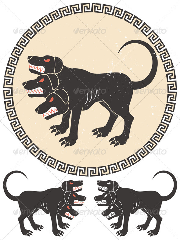Cerberus Stylized - Monsters Characters